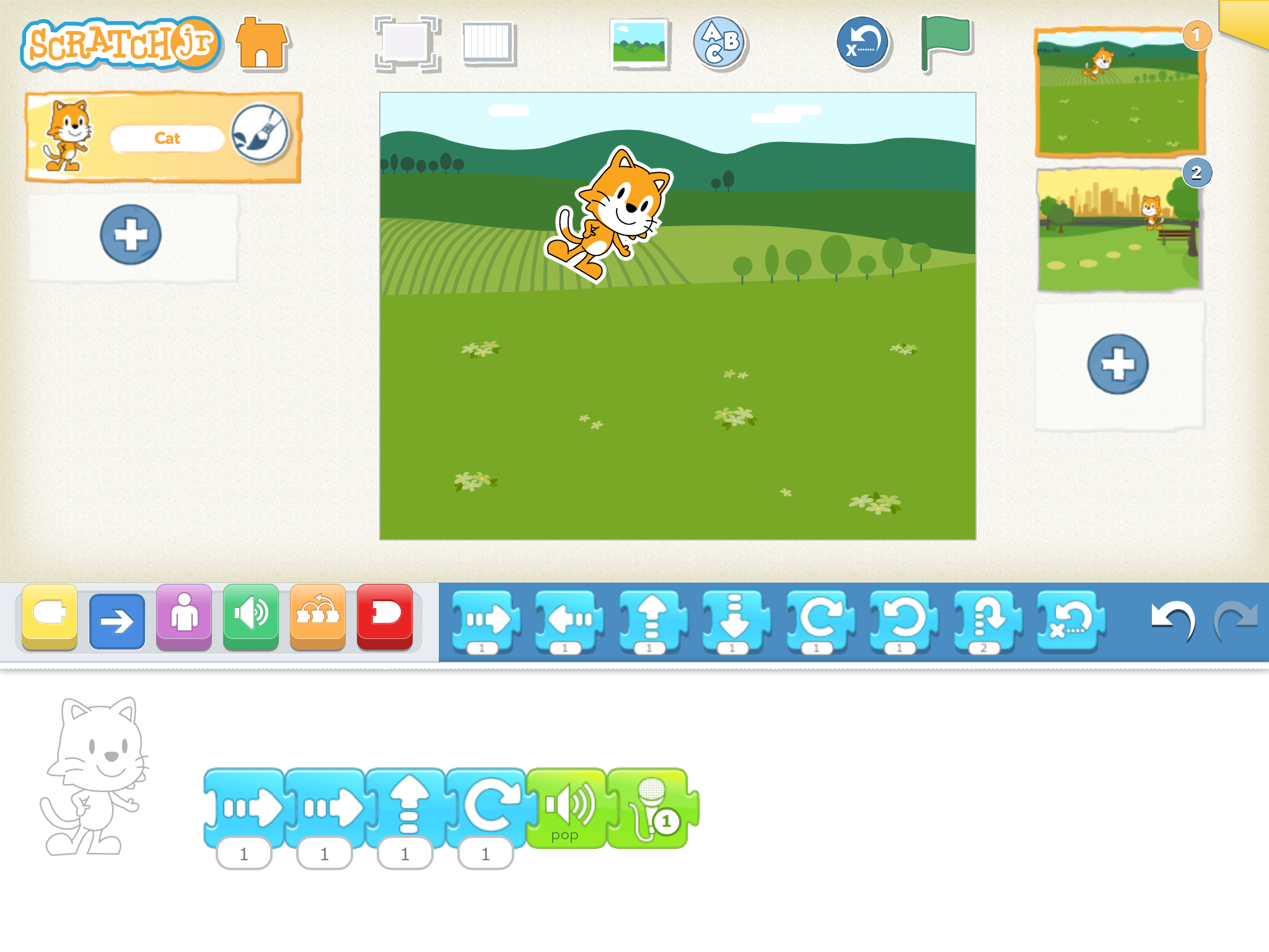 Scratch junior til iPad