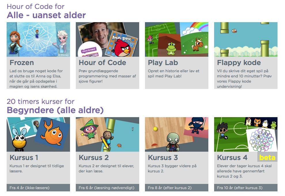Code Studio – Hour of Code