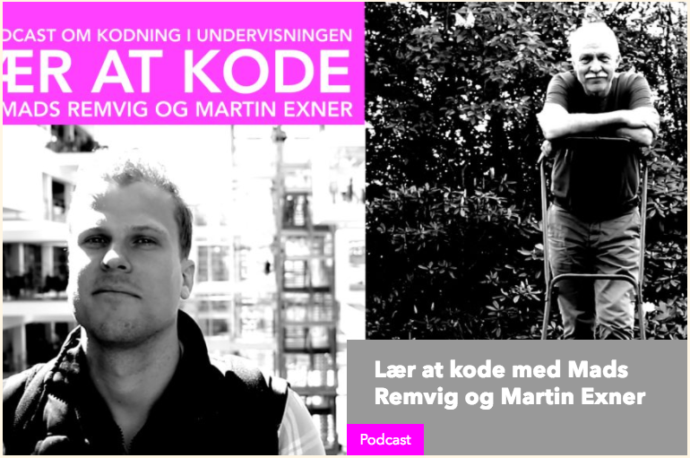 Podcast om Kodning og it-kreativitet